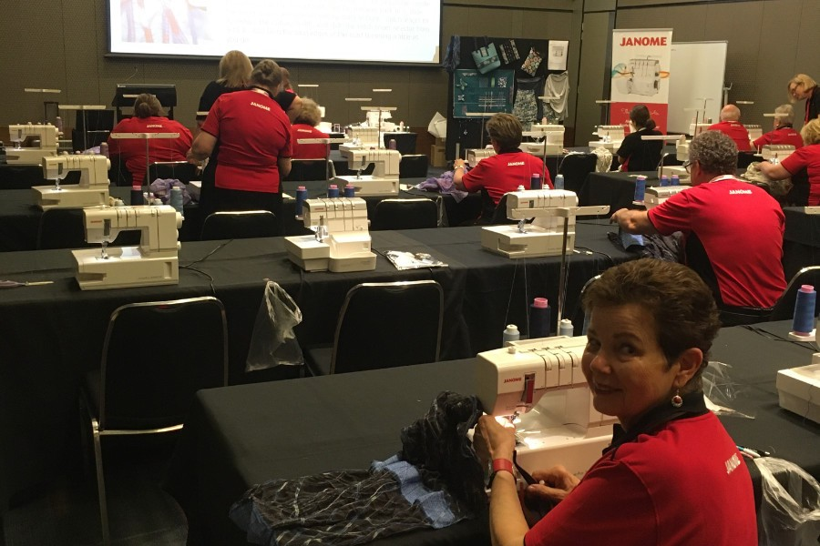 Janome 50th Anniversary Conference Workshop