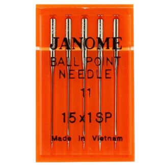 Janome Ball Point Sewing Machine Needles