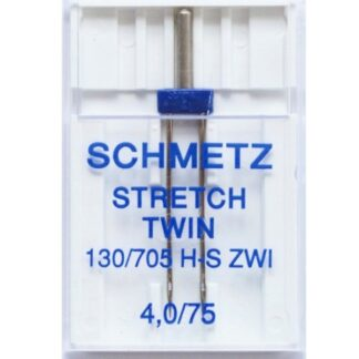Schmetz Stretch Twin 4.0mm