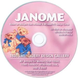 Janome 1835 Designs Bonus